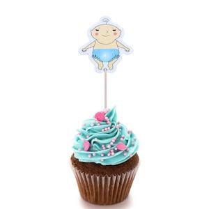 Image 4 - 20 piezas para Baby Shower, decoración para fiesta de cumpleaños de niño y niña, suministros para fiesta de cumpleaños
