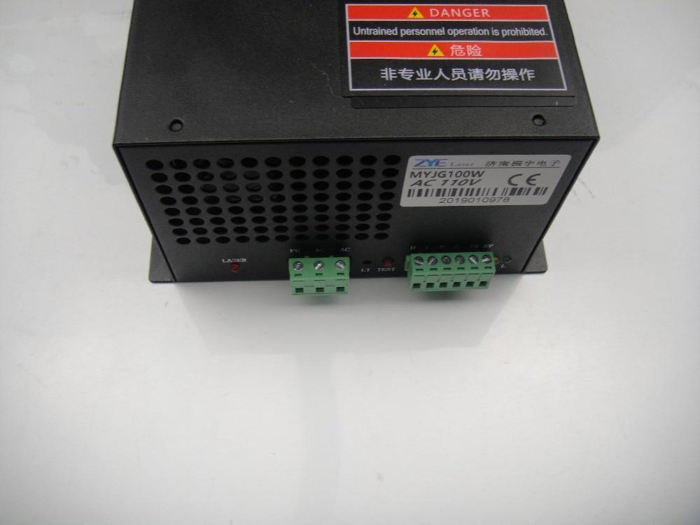 Fuente de alimentación de láser de CO2 AC110V de 80W para tubo - Piezas para maquinas de carpinteria - foto 4