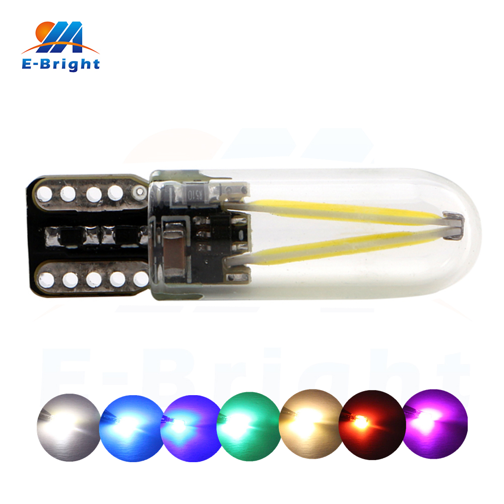 4pcs 12V 24V T10 COB 30 SMD LED Bulb Tail Signals Parking Car Door Lights White Red Blue Amber Green Pink Ice Blue Free Shipping бутылка 0 4 л asobu ice t 2 go фиолетовая it2go violet