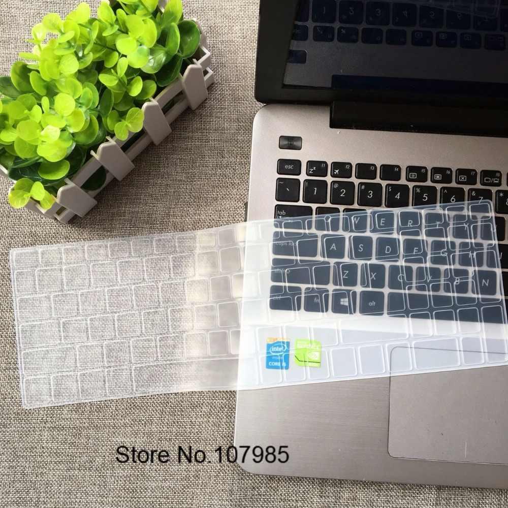 15 17 polegada de Silicone Protetor De Teclado Tampa Da Pele Para Acer Aspire ES1-523 ES1-523G ES1-533 ES1-572 F5-521 E5-573 E5-573G-59LG
