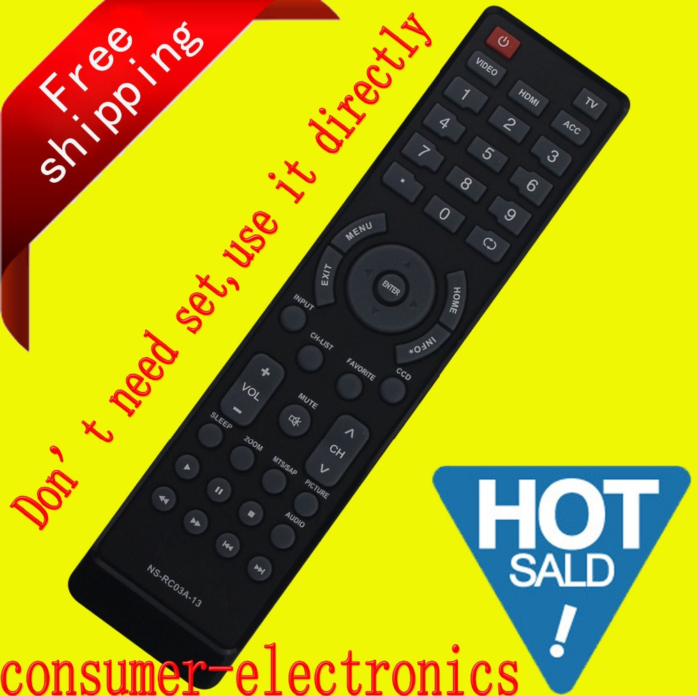 for INSIGNIA LED LCD TV  remote control for  NS-RC03A-13 remote control remoto For NS-42L260A13 NS-46L240A13 NS-42E440A13