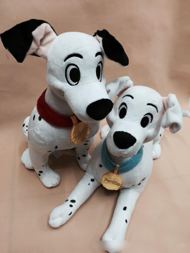 New Arrival Original 101 Dalmatians Animal Spot Dog Cute Big Soft Anime Plush Toy Doll Birthday Children Boy Girl Gift new 35 90cm large stuffed soft plush simulated animal dalmatians dog toy great kids gift free shipping
