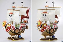 Anime POP One Piece Action Figure 1 pcs 28cm Thousand Sunny Boat ship Pirate ship Model PVC Action Figure Toys Model collection