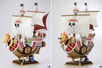 Anime POP One Piece Action Figure 1 pcs 28cm Thousand Sunny Boat ship Pirate ship Model PVC Action Figure Toys Model collection