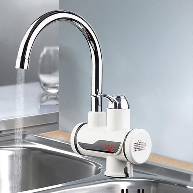 Entzuckend Elektrische Durchlauferhitzer Wasserhahn Instant Warmwasserhahn Heizung  Kalte Heizung Wasserhahn Tankless Durchlauferhitzer Küche