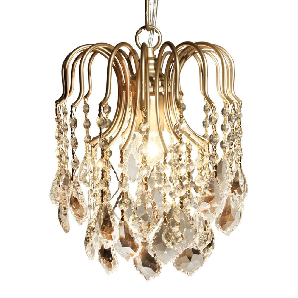 HTB1MHLWcyIRMeJjy0Fbq6znqXXah Modern Flush Mount Home Gold Black LED K9 Crystal Ceiling Chandelier Lights Fixture for Living Room Bedroom Kitchen Lamps