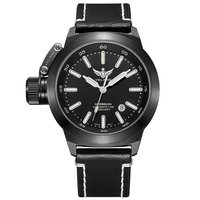 YELANG V1022 T100 Tritium Luminous Army Military Mens Automatic Mechanical Wrist Watch With ETA 2824 2 Automatic Movement Black