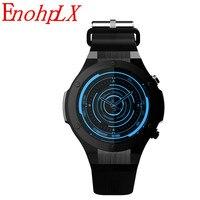Enohplx h2 스마트 시계 mtk6580 생활 방수 쿼드 코어 gps 와이파이 3g 심장 박동 500 w 1g ram 16g rom 아이폰 x 안 드 로이드에 대 한|스마트 시계|   -