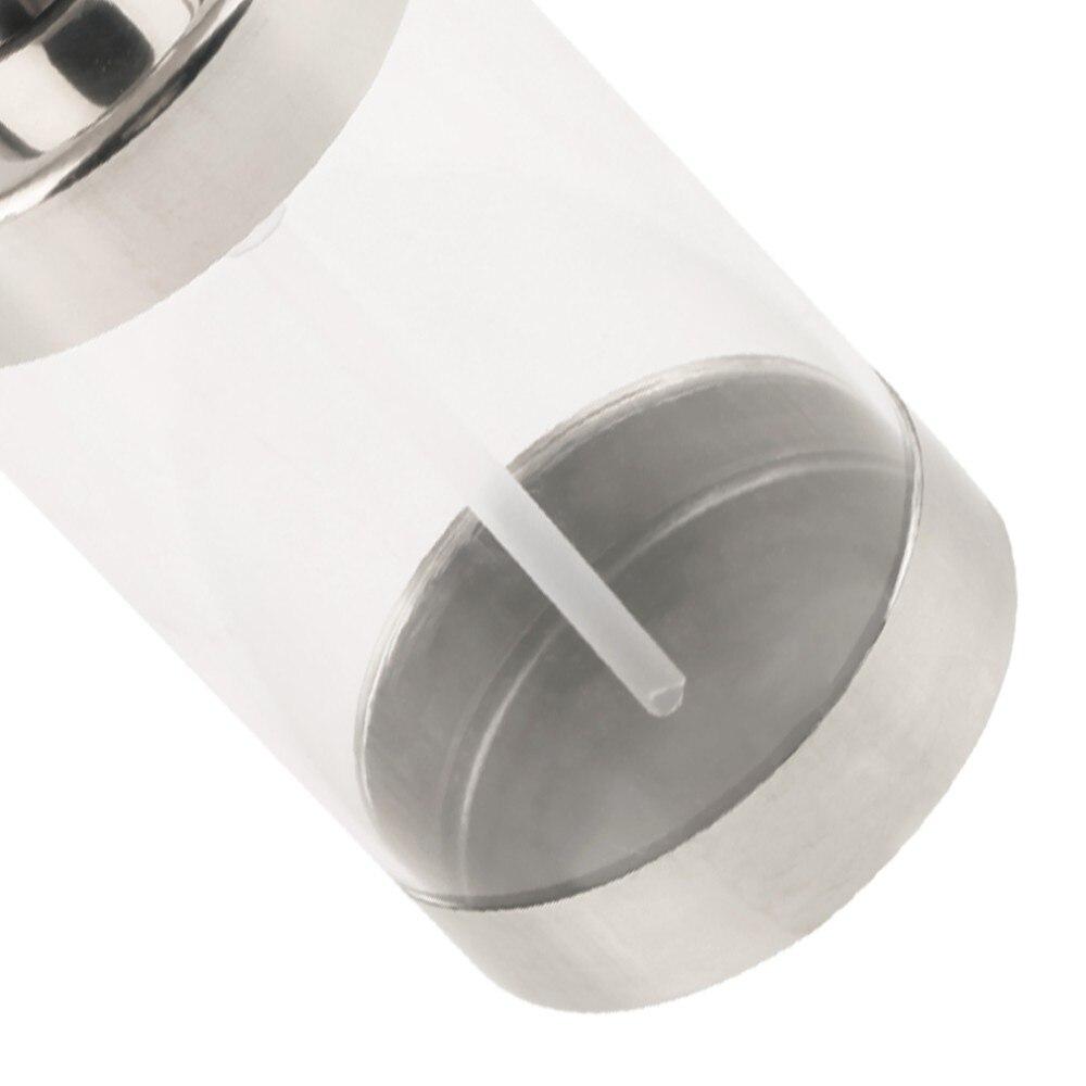 Heimwerker Bad Hardware Neue Pumpe 6 Arten Edelstahl Seife Pumpe Flüssigkeit Lotion Dispenser Ersatz Jar Rohr Für Bad GläNzend