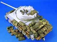1/35 Sherman Stowage set (1) not include tank toy Resin Model Miniature Kit unassembly Unpainted