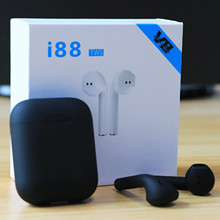 Original i88 TWS Wireless Bluetooth headset Mini earbuds Touch Control Bluetooth Speaker for iphone Android Xiaomi Huawei LG(China)