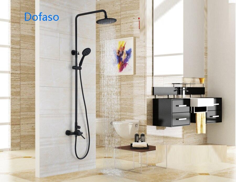 Vasca Da Bagno Altezza : Dofaso altezza del rubinetto vasca da bagno doccia a parete set