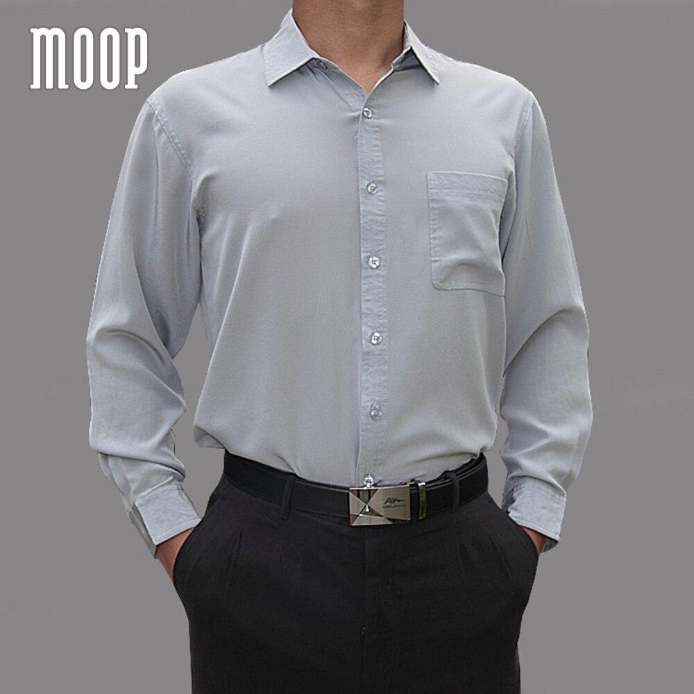 4 الألوان الصلبة الرجال الطبيعي الحرير قمصان طويلة الأكمام قميص رسمي للأعمال رخيصة قميص homm camiseta الغمد vetement أوم LT1508-في قمصان كاجوال من ملابس الرجال على  مجموعة 3