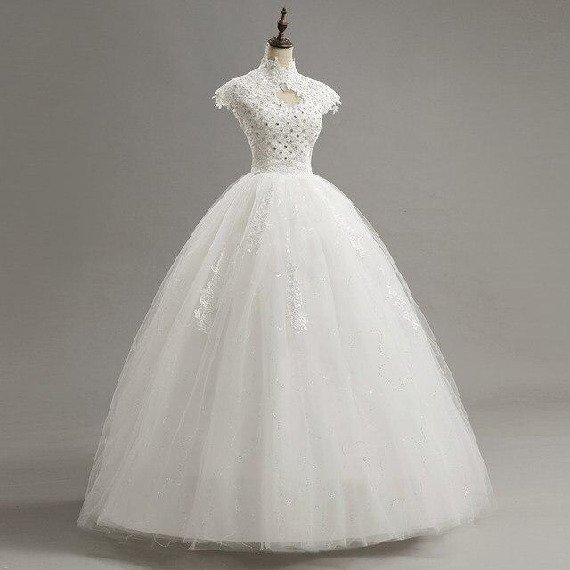 Tienda Online Lamya Encaje novia corto vestido de novia 2018 barato ...
