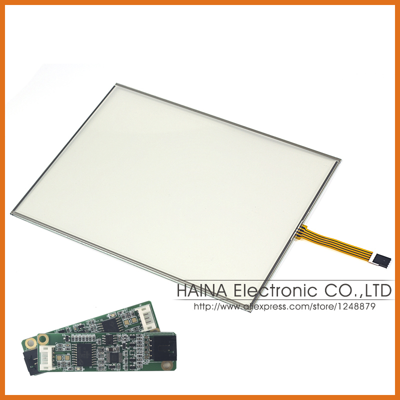 5 wire 16:10 12 12.1 Inch includes USB Cotroller Resistive Touch Screen Panel For Industrial equipment