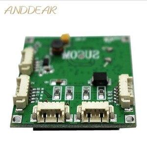 Image 1 - Mini PBCswitch module PBC OEM module mini size 4 Ports Network Switches Pcb Board mini ethernet switch module 10/100Mbps OEM/ODM