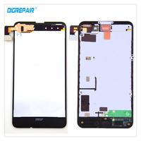 100 Tested Black For Nokia Lumia 630 635 LCD Display Touch Screen Digitizer Glass Panel Assembly