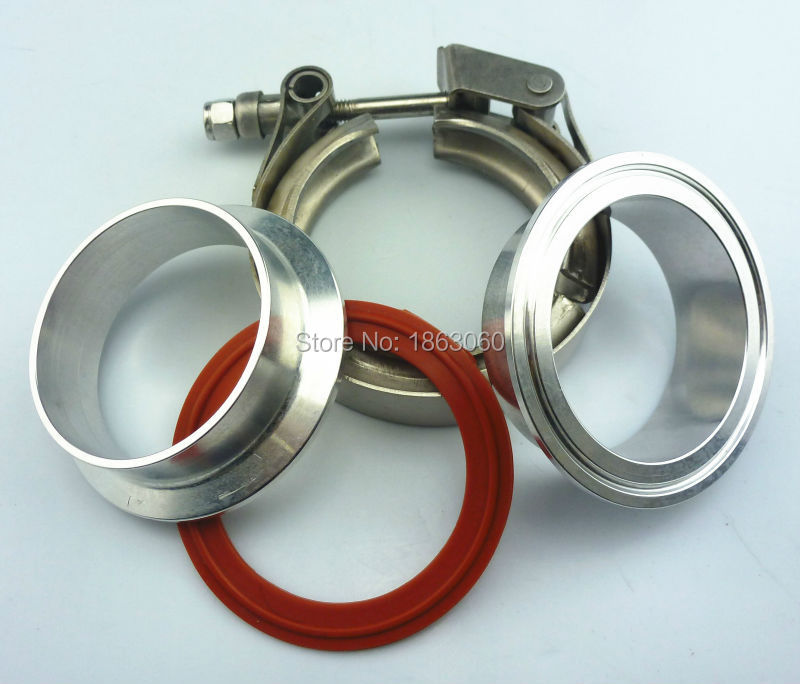 3 Quot Inch Stainless Steel 304 Quick V Band Clamp With 2