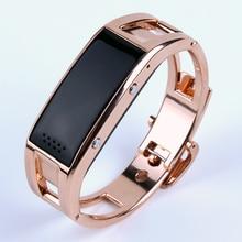Bluetooth вибрирующий смарт браслет d8 смарт серебряный браслет спорт smart watch для ios android телефон релох inteligente