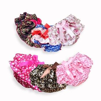 06ed528e4 Falda para niños, pantalones cortos para bebés, bebés, niñas, satén,  volantes, pantalones de PP, minifaldas para niñas, faldas de princesa tutú  ...