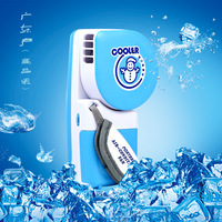 2016 Creative Portable Small Water Cooling Spray Mist FanUSB Battery Mini Air Conditioning Bladeless Fan