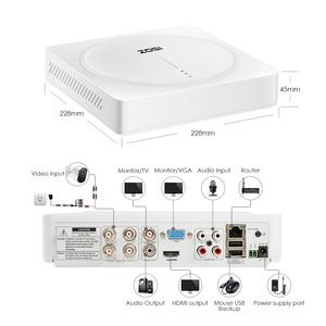 Image 4 - ZOSI 5.0MP 4CH Home Security Kameras System, H.265 + Überwachung 4 Kanal DVR mit (4) x 5MP PIR Motion Sensor Sicherheit Kameras