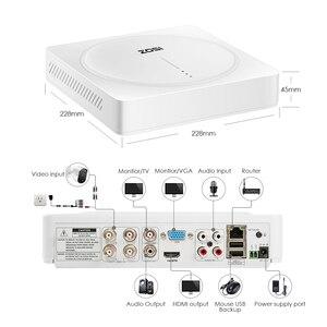 Image 4 - Zosi 5.0mp 4ch 홈 보안 카메라 시스템, h.265 + 감시 4 채널 dvr (4) x 5mp pir 모션 센서 보안 카메라