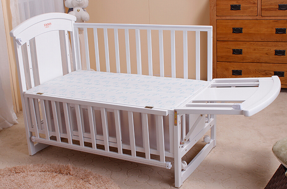 Solid Wood Cribs High Quality Solid Wood Baby Bed Wooden