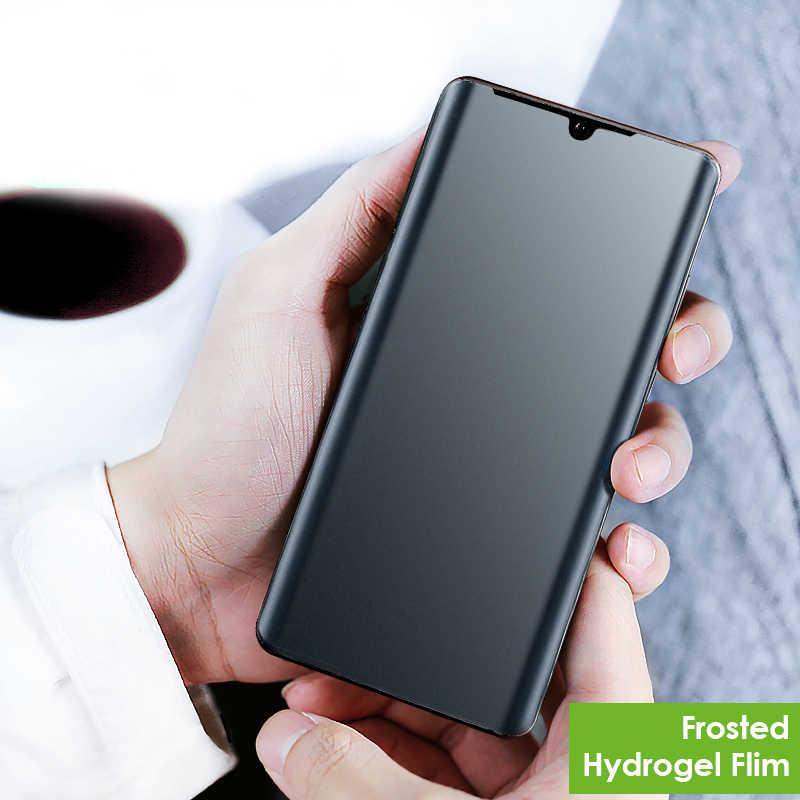Protector de pantalla Mate de vidrio templado 3D para Huawei P30 Pro Mate 20 pro 20X funda amigable Anti huellas dactilares vidrio esmerilado