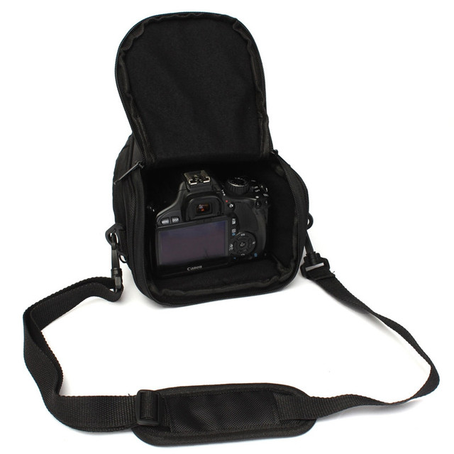 LEORY 2017 Digital Kamera Tasche Stoßfest Handtasche Schulter Tragen Kamera Reise Rucksack Fall Für Canon Für EOS DSLR Kamera