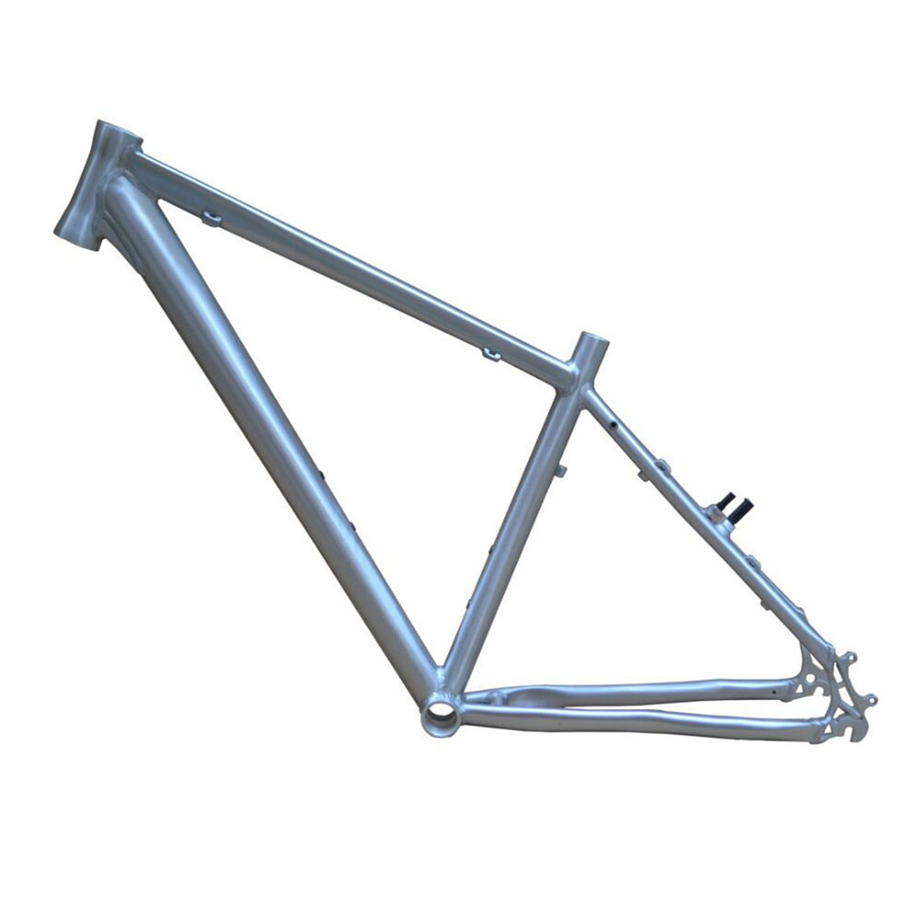 17 inch MTB bike raw frame 26 aluminium alloy mountain bike frame bike suspension frame bicycle frame 4k dp