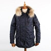 1979 Ман Большой США/Европейский размер зимние N3B куртка