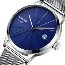 2017 BINGER Mens Watches Luxury Brand automatic mechanical Men Watch Sapphire Wrist Watch Male Japan Movemt reloj hombre 5079-5