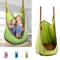 High Quality Cotton canvas swing Baby Children Indoor Pod Swing Hammock Hanging Bed Inflatable Cushion Mat