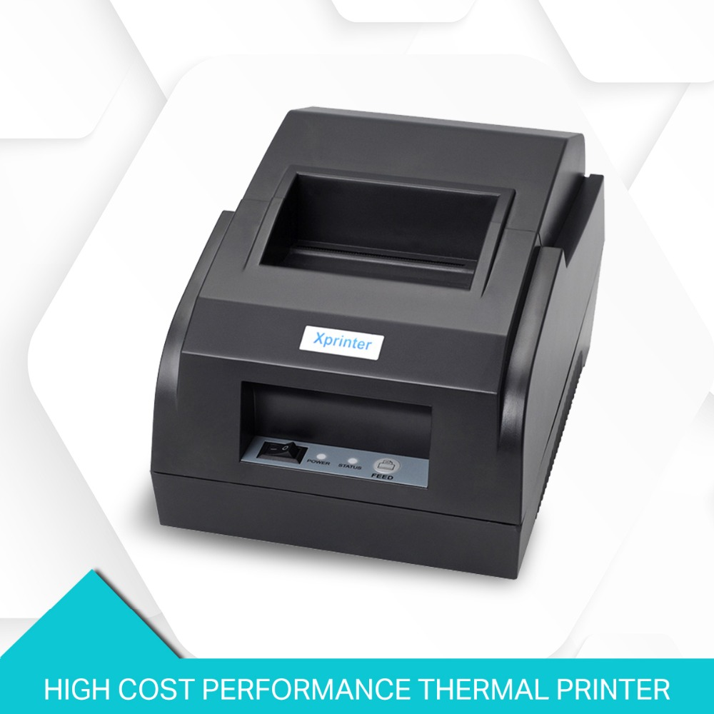 Thermal Receipt Printer 58mm thermal printer pos printer Pos System for Supermarket and Resaurant XP-58IIL цены