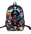 16 Inch Anime Undertale Backpack For Teenagers Boys Girls School Bags Women Men Travel Bag Children School Backpacks