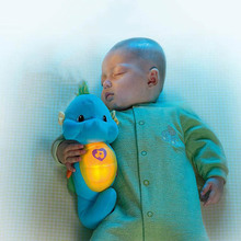 Cute Baby Toys Soft Plush toys Doll Seahorse Musical Sound