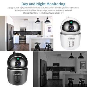 Image 4 - Inqmega 1080p nuvem ip câmera de vigilância rastreamento automático câmera de segurança em casa sem fio wifi rede cctv câmera monitor do bebê
