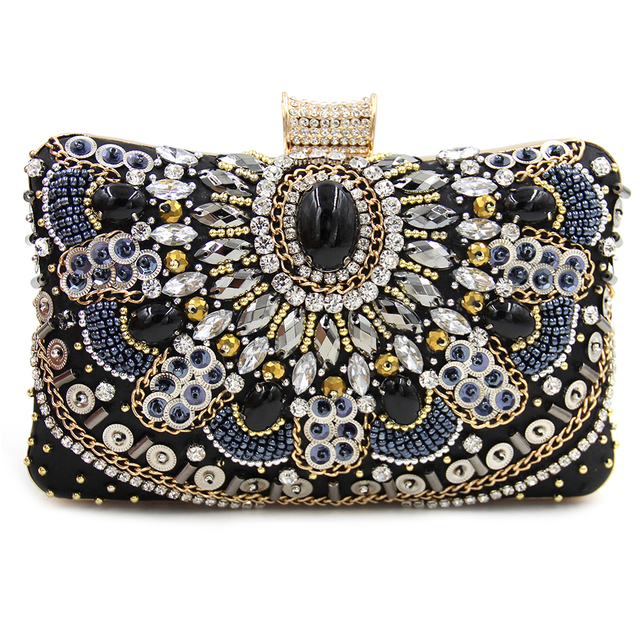Women's Diamond Clutch Bag