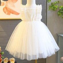 цены на Summer Dresses Girls Toddler Kids Baby Girls Dress Embroidery Tulle Party Pageant Princess Dresses For Girls Dress Costume F326  в интернет-магазинах