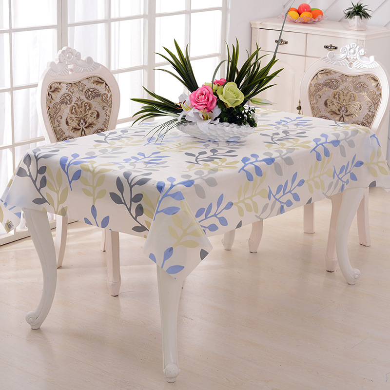 Kitchen Table Cloth Dining Room Cover Past Side Modern Simple Dustproof Anti Oil In Tablecloths From Home Garden On