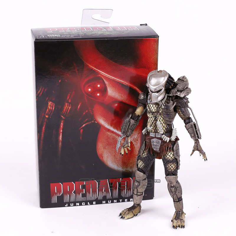 NECA PREDATOR P1 Jungle Hunter PVC Action Figure Collectible Model Toy 8inch 20cm free delivery of genuine neca predator alien p1 ganso soldier elder predator model