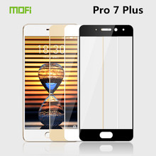 For Meizu Professional 7 Plus Glass Tempered MOFi Full Cowl Protecting Movie Display Protector for Meizu Professional 7 Plus Tempered Glass Movie