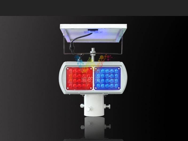 Gyári szállító napelemes motoros közúti biztonsági villogó - Biztonság és védelem - Fénykép 2