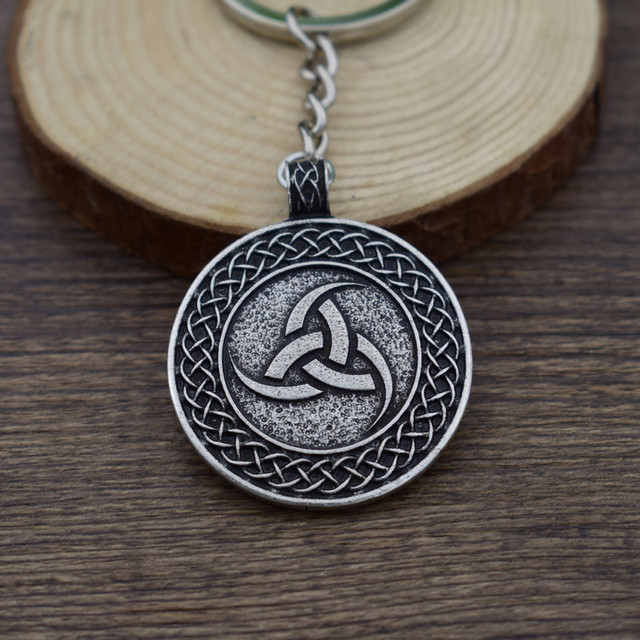 Sanlan Norway Viking Totem Valknut Odins Symbol Suncross Key