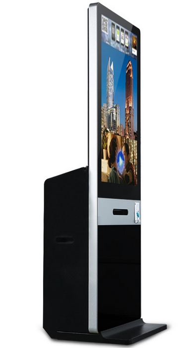 42 Inch 46 Inch Portable Fashion Photo Booth Kiosk With Printer For Wedding,Shopping Mall,Lobby
