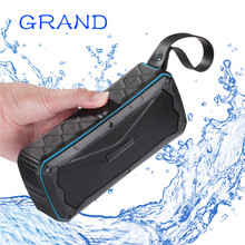 Get more info on the Wireless Bluetooth 4.1 S610 Outdoor Portable Stereo Speakers IP67 Waterproof Built-In Dual Driver TFcard Slot GRAND