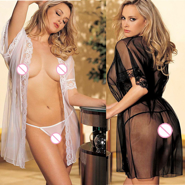 ST397 Women sexy lingerie lenceria perspective robe sexy adult Intimate costumes porno babydoll lady erotic unerwear pajamas