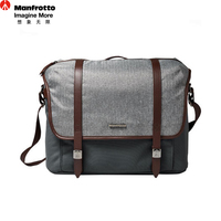 Manfrotto LF WN MM Shoulder Camera Bag Genuine Leather Nylon Soft SLR Bag Portable Photography Accessories Carry Bag For DSLR