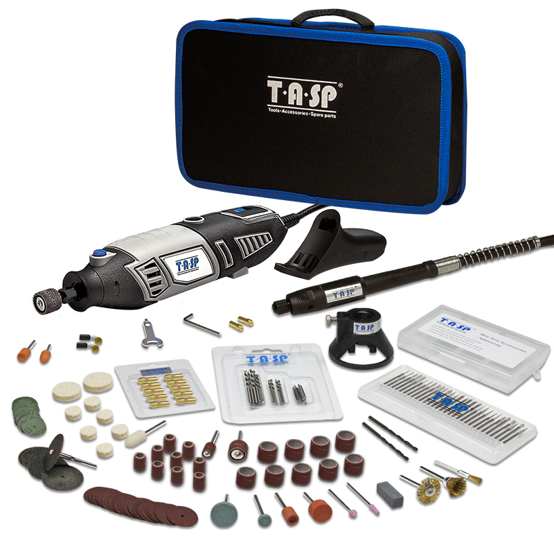 220V 170W Electric Mini Drill Rotary tool With Grinding Accessories Dremel Engraving Polishing 175pc Tool Bag